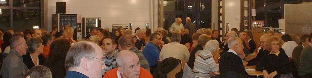 The 2006 Wine & Wisdom Evening, held in the Harvey Grammar School Diner